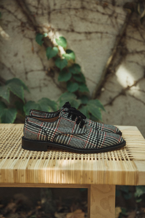 Fratelli Rossetti lace up checked
