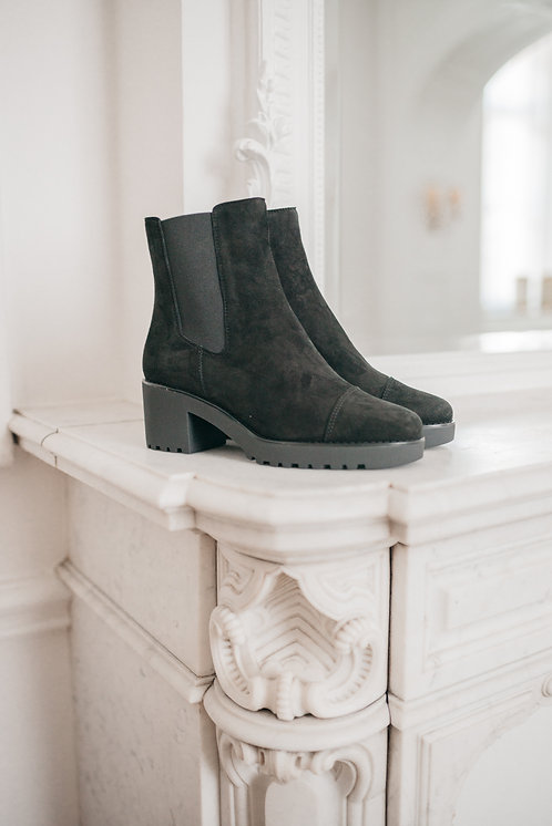 Hogan ankle boots - black suede