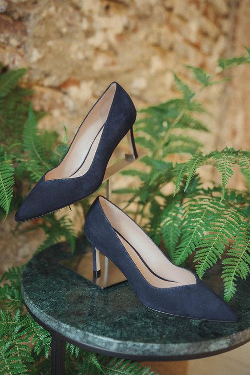 Stuart Weitzman heels blue