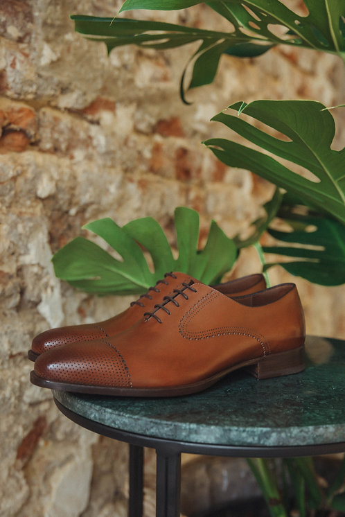 Fratelli Rossetti lace up camel