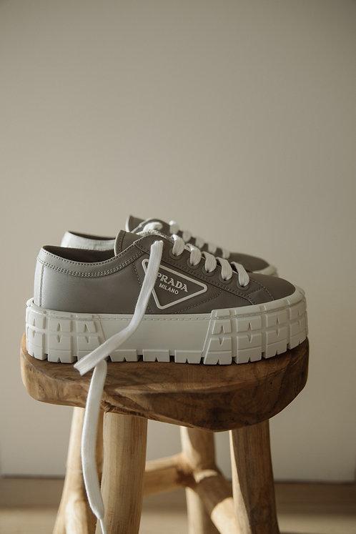 Prada nylon gabardine sneakers