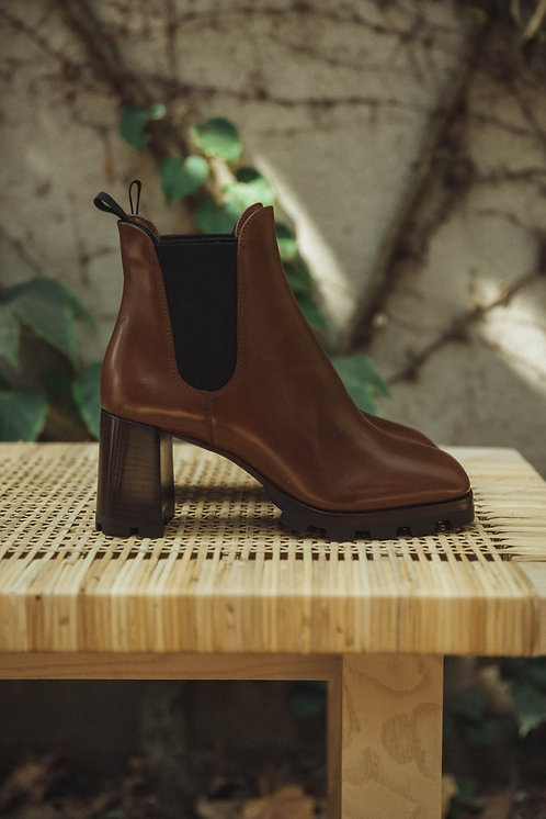 Prada ankle boots brown