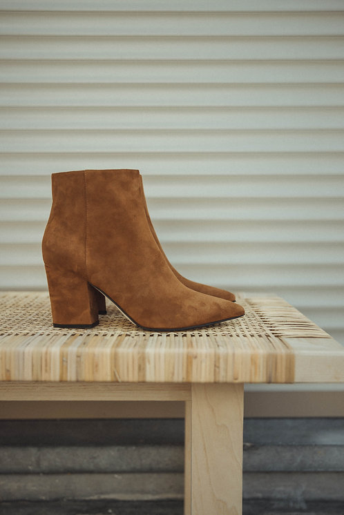 Sergio Rossi boots suede camel