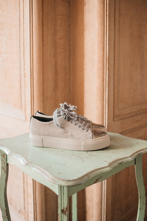 AGL sneakers - taupe suede