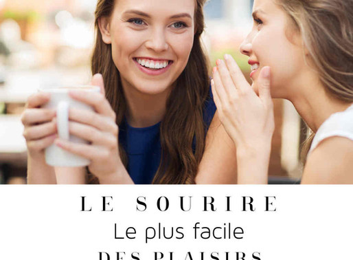 Le sourire, le plus facile des plaisirs ! /The smile, the easiest of pleasures!