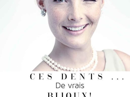 Ces dents, de vrais petits bijoux !/ These teeth, real little jewels!
