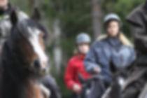 Horseback riding full-day trek