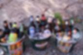 Bier in Eimern