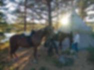 Horseback riding Grann tour