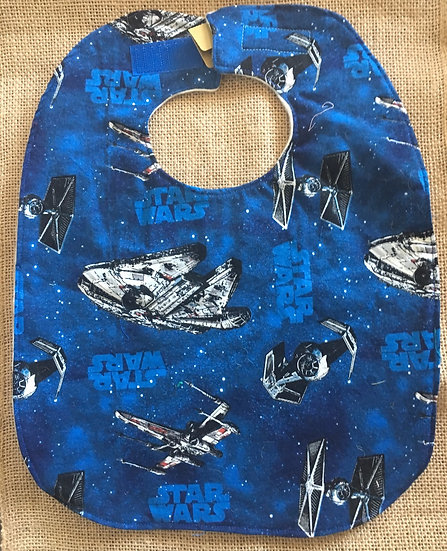 Star War Fleece Backed Bib
