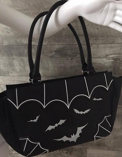 Bats Handbag by Banned Apparel