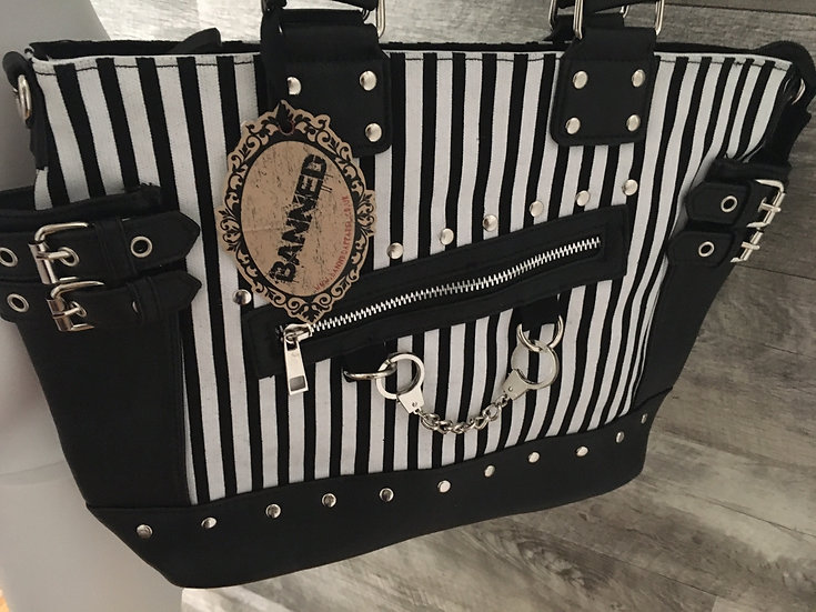 Small Handcuff Bag by Banned Apparel