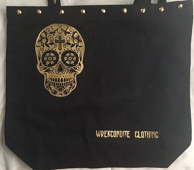 Sugar Skull Canvas Bag