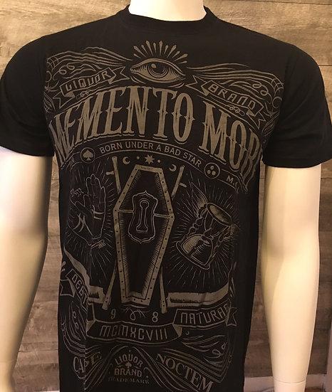 Liquor Brand Momento Mori T-Shirt