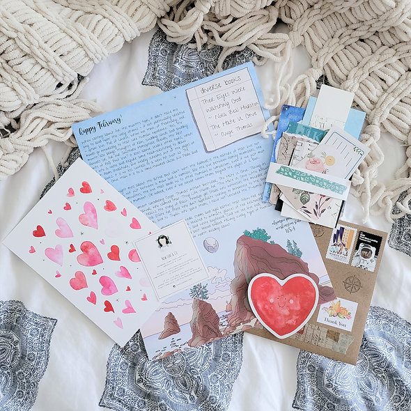 February 2021 Happy Mail: Love!