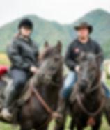 cavallo bardigiano trekking