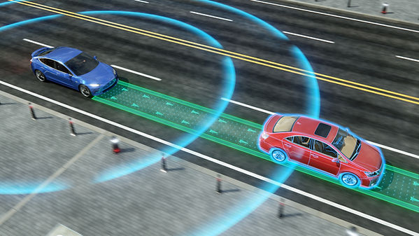 Autonomous self driving electric car cha