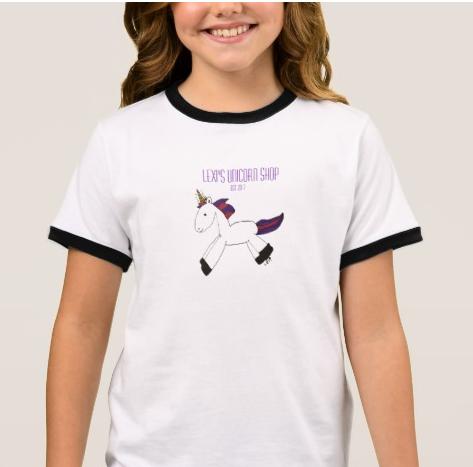 Original Unicorn Ringer T-Shirt