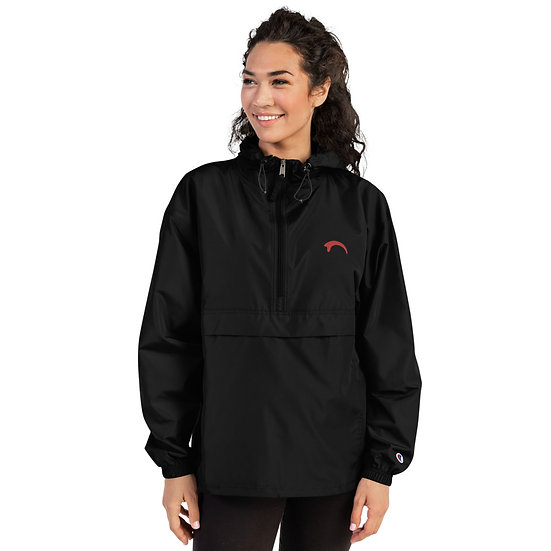 Raptor Claw (Red) Embroidered Champion Packable Jacket