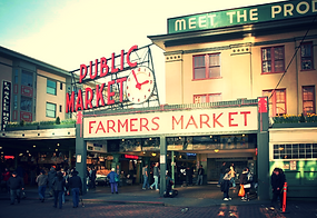 Pike Place Market in the daytime