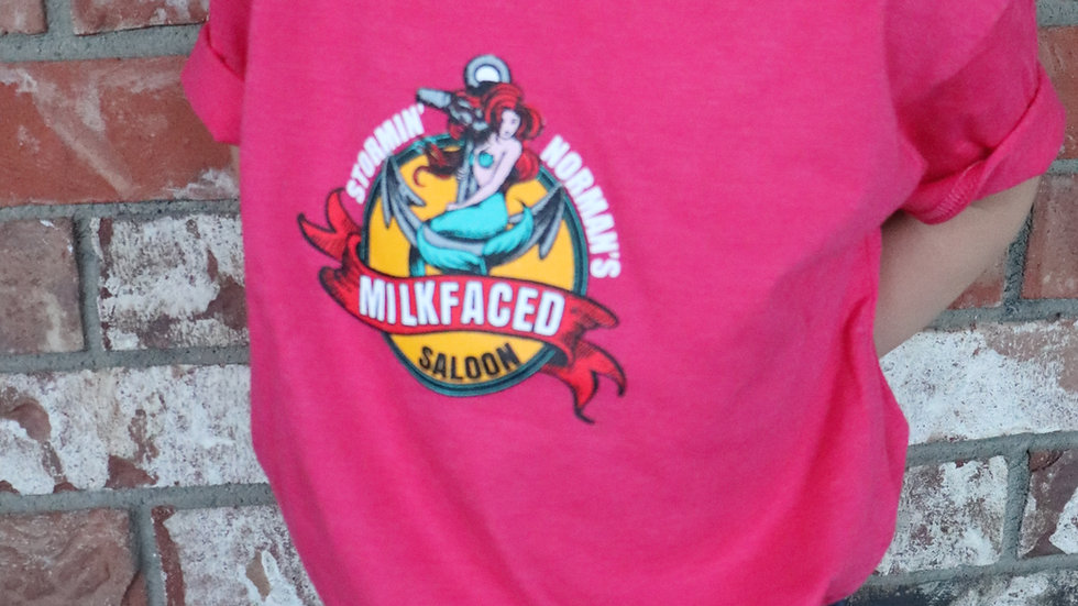 "Toddler ""I got Milkfaced"" Shirt"