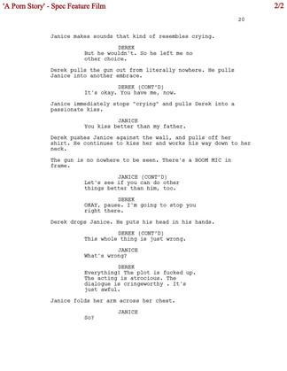 A Porn Story 2/2