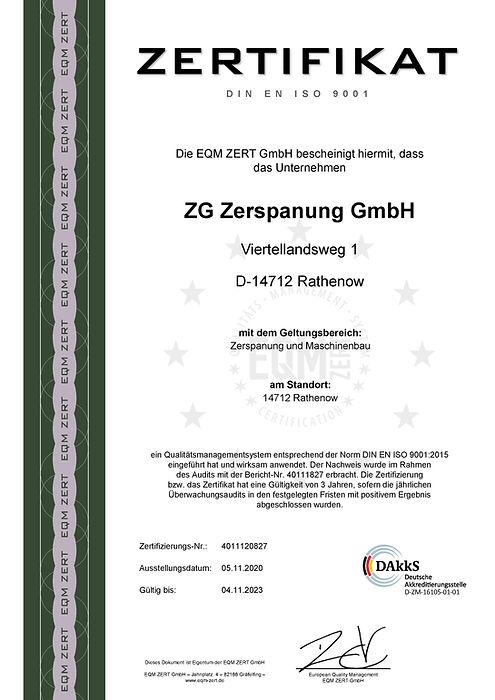 Zertifikat_ISO_9001_ZG Zerspanung GmbH_R