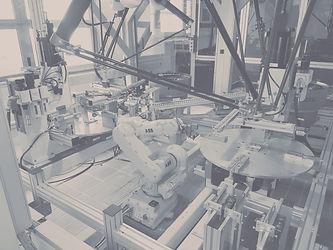 Sicherheitszelle Roboterzelle Montageautomat