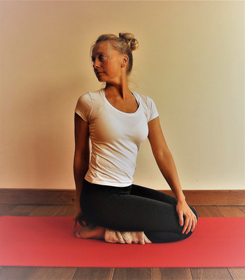 Twist Santosha Yoga