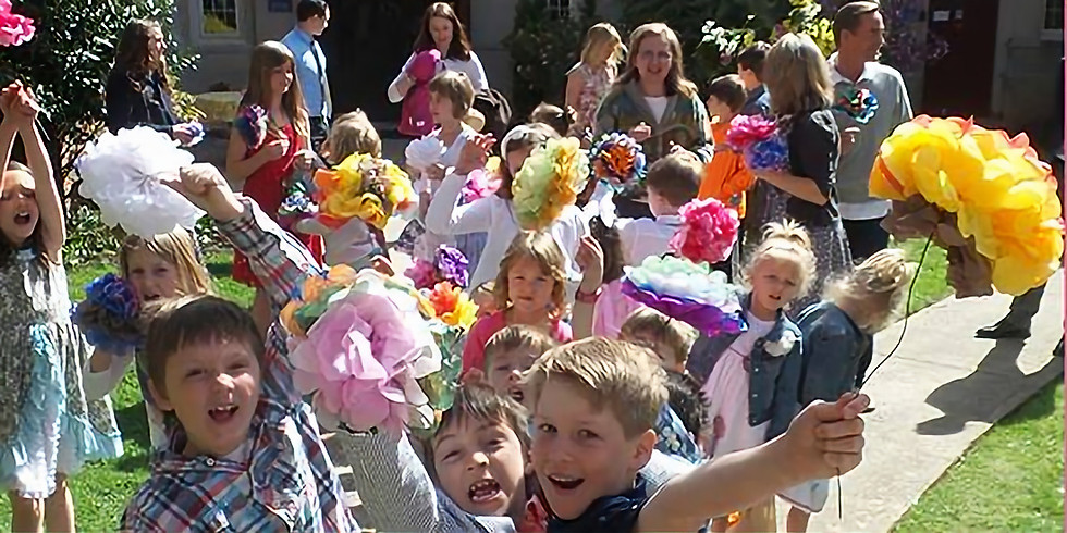 Flowering of the Cross for Children and Youth