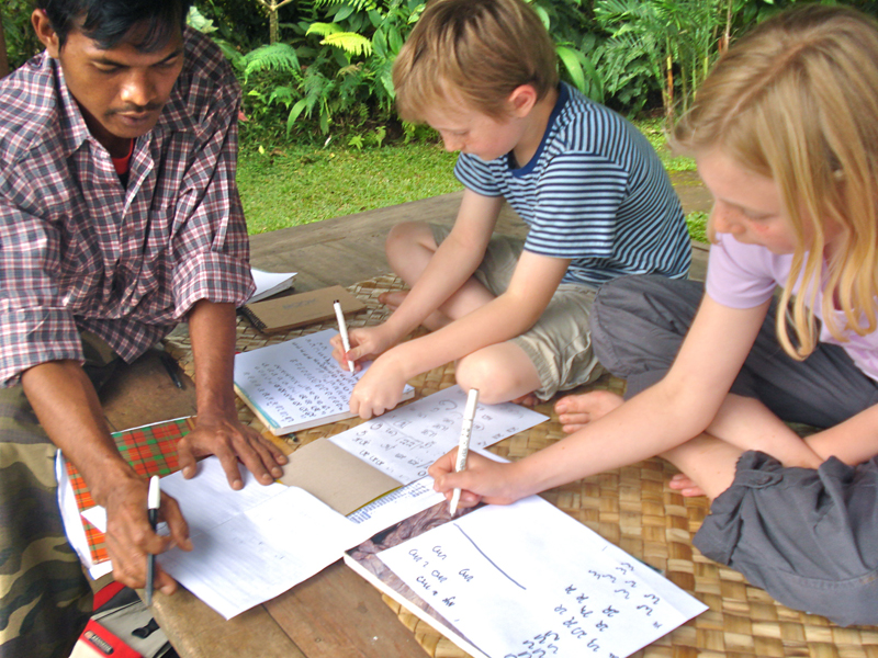 Learn Balinese Calligraphy
