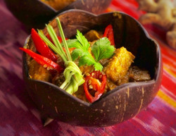 Tempeh Rendang - Lots of Vegetarian & Vegan Choices