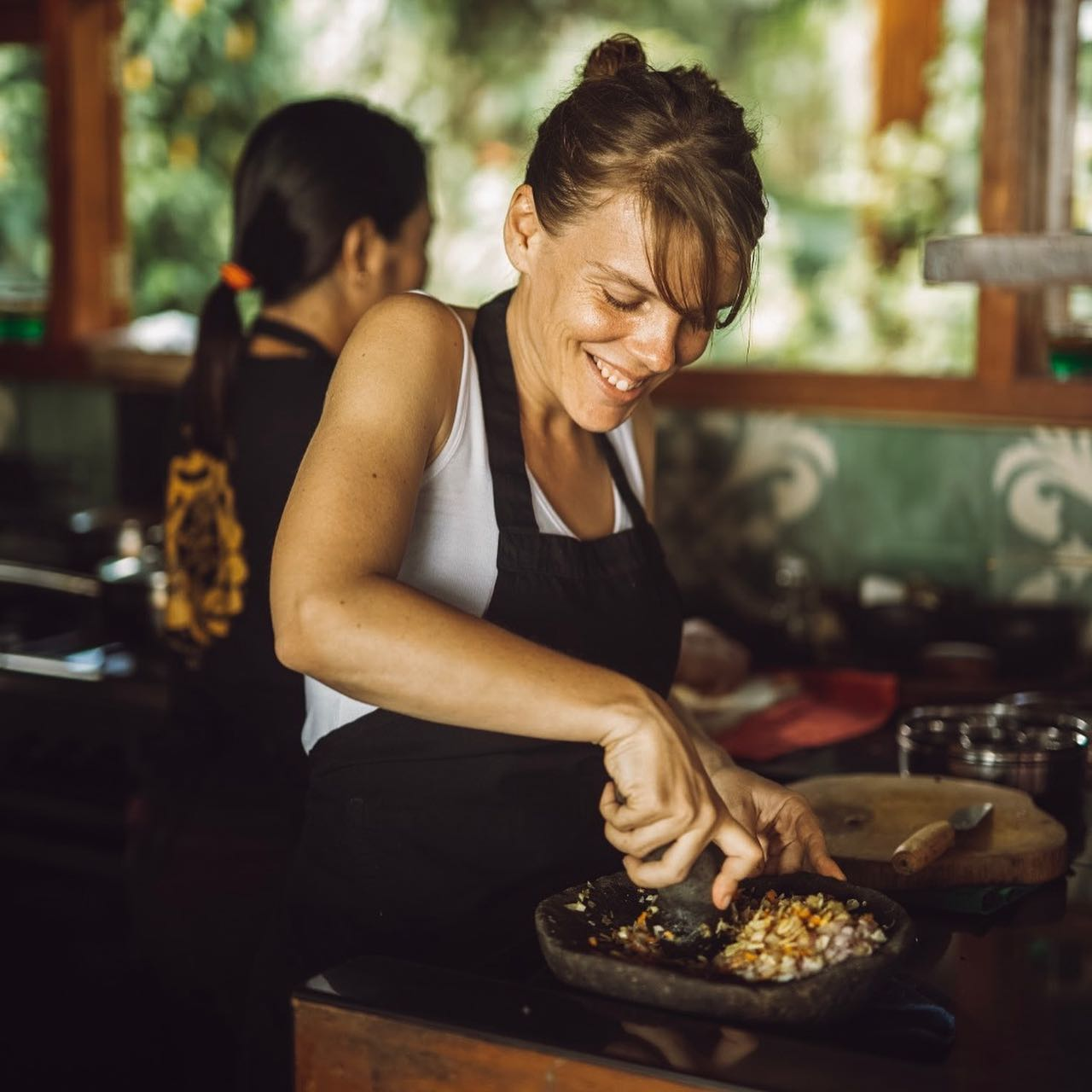Join a Balinese cooking class
