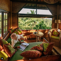 Private top level verandah