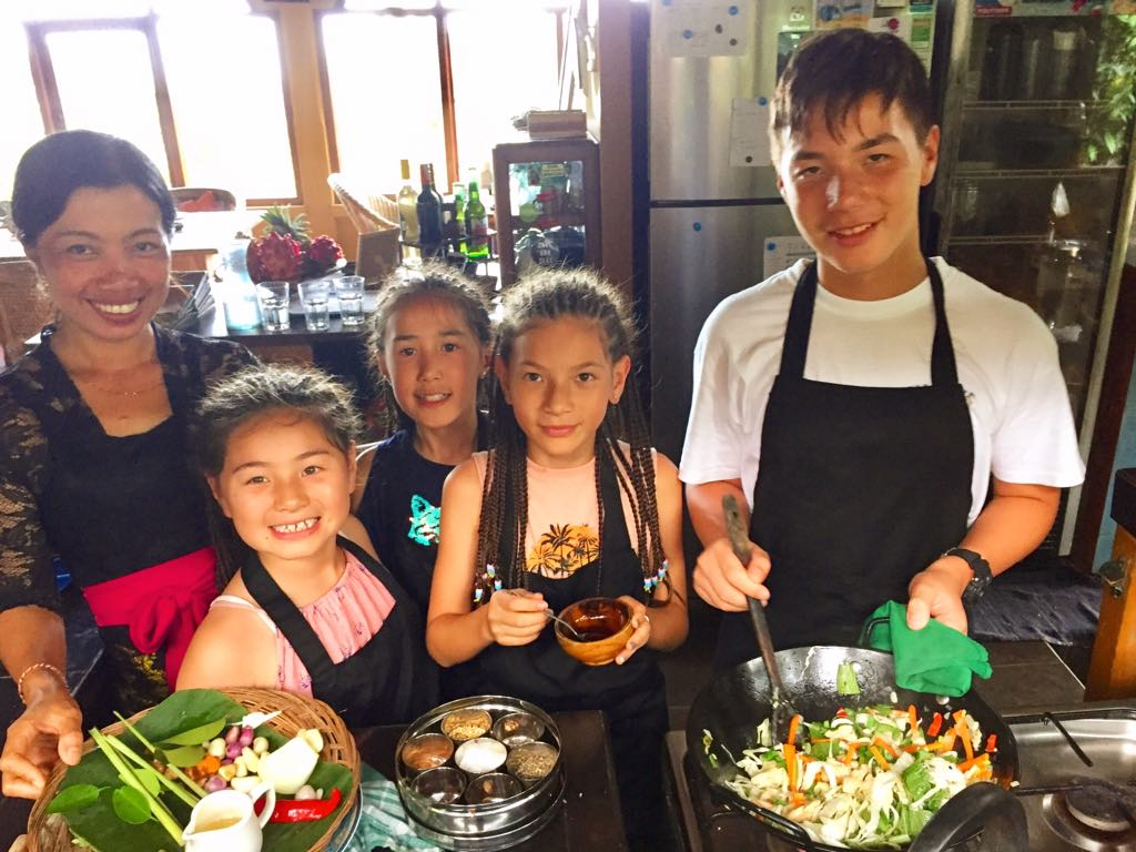 Learn how to cook Balinese meals