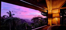 Enjoy a spectacular sunset from the Tree House Bungalow