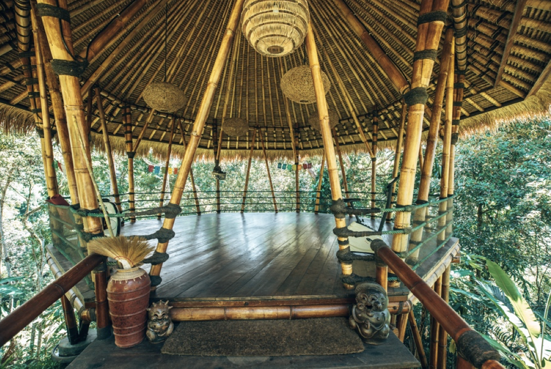 Gorgeous Bamboo Yoga Shala in the Treetops