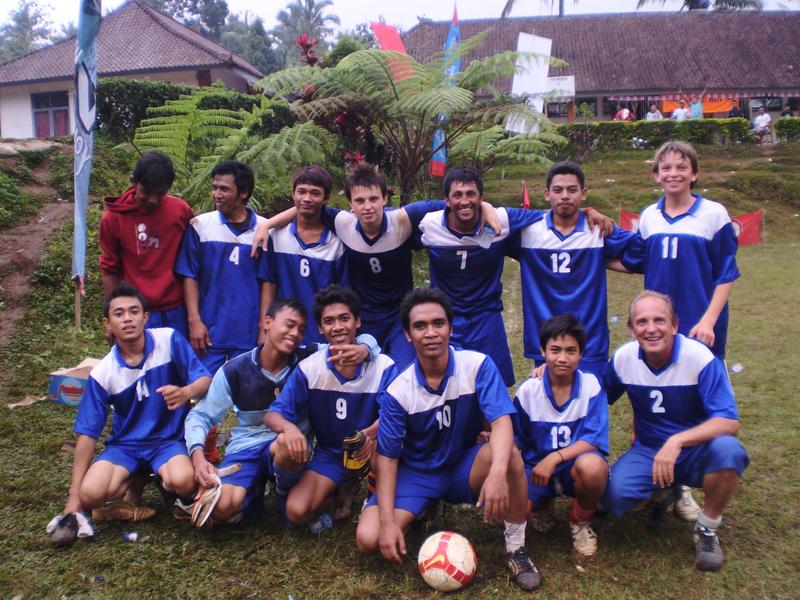 Sponsored football team