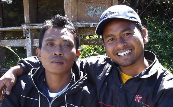 Pak Eka  wayan guides
