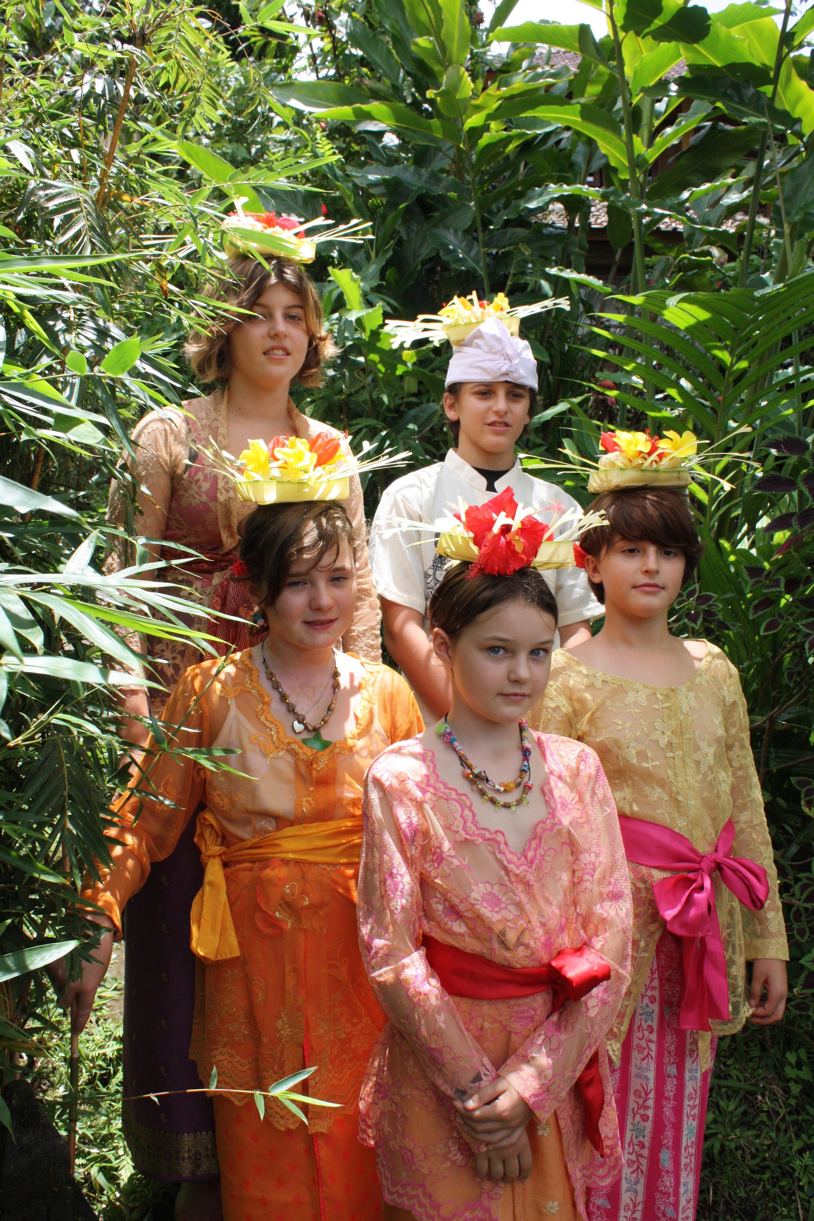 Balinese costume workshop