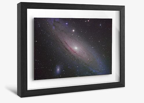 Premium Framed print. Andromeda Galaxy