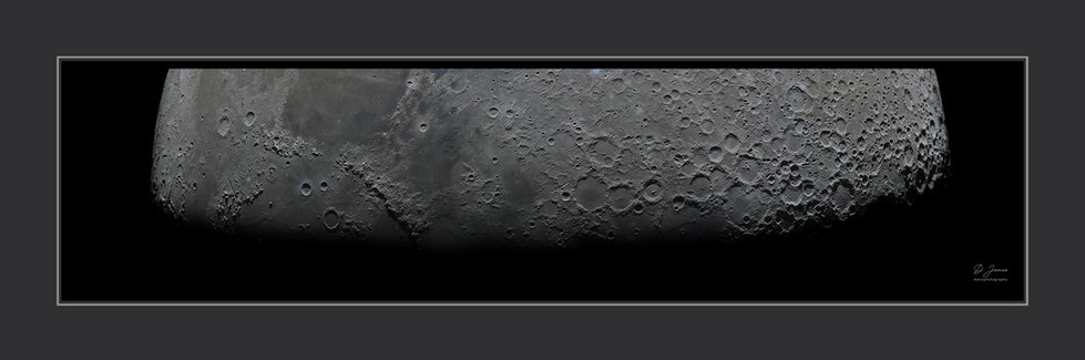 Le terminateur lunaire. Photo haute résolution. Poster disponible.