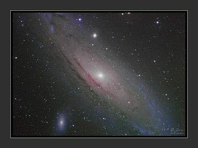 Andromeda Galaxie Poster