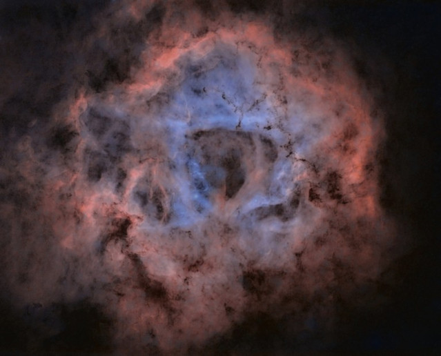 Starless Rosette nebula