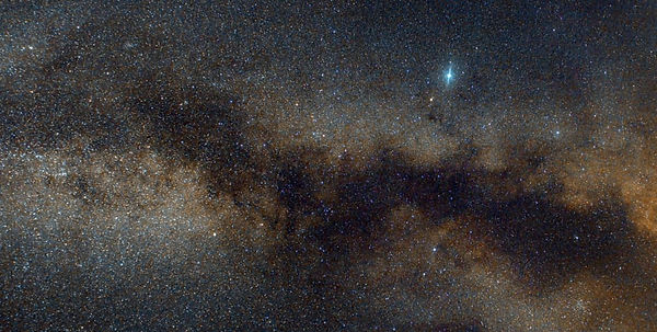 Milky way, from Cygnus to Aquila