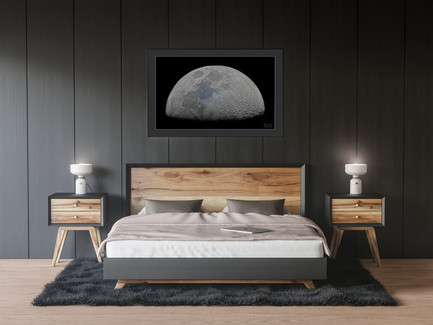 Large Space poster bedroom. Astronomy wall art.