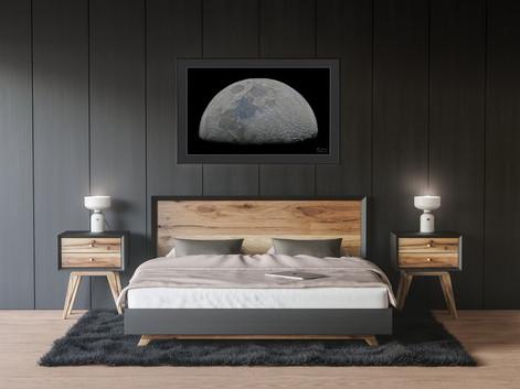 Décoration murale, chambre. Demi Lune.