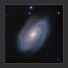 Galaxie de Bode, M81