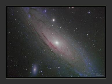 Acheter affiche de la galaxie Andromède
