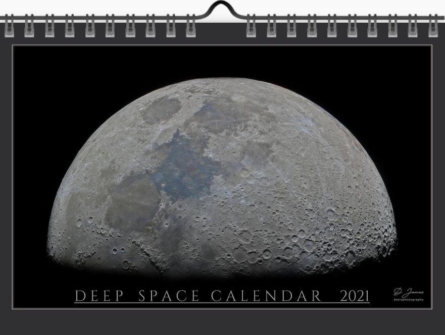 Calendar cover moon